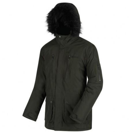 TRIMM Dámská zimní bunda Icelady bílá/zelená, L