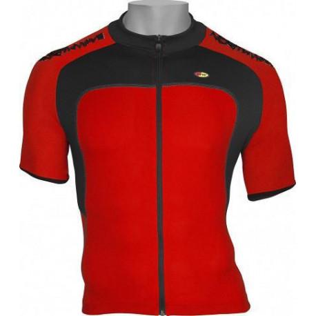 TRIMM Lehká bunda Wave červená/bílá, S