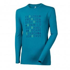 """VANDAL """"EXPLORE"""" pánské triko s dlouhým rukávem s bambusem"""