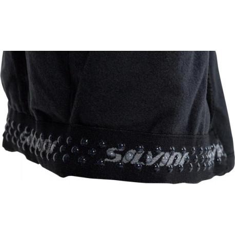 CANARD Pánské spodky dlouhé nohavice CESAR grafit/černé švy, XXL