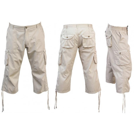 Bavlněné 3/4 kalhoty CANCUN - RVC