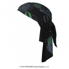 D SAT TISK trojcípý šátek