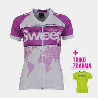 Cyklistický dres CLASIC D023