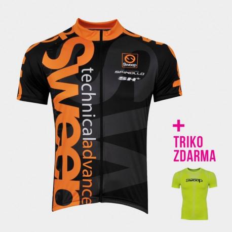 Cyklistický dres CLASIC D021