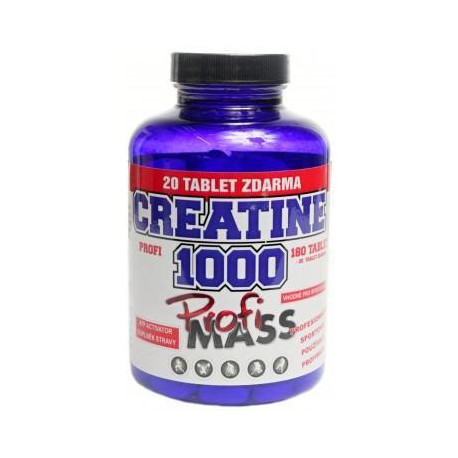PROFI CREATIN 1 000 mg 180 + 20 tablet