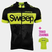 Cyklistický dres CLASIC D031