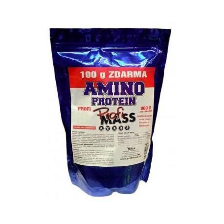 PROFI AMINO PROTEIN 70% vanilka 900 g + 100 g zdarma