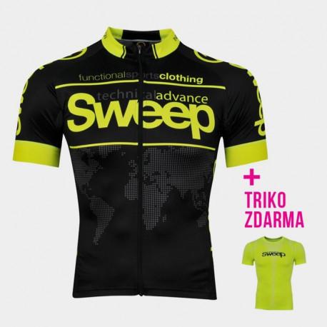 Cyklistický dres ELITE RACE CYKLO D026