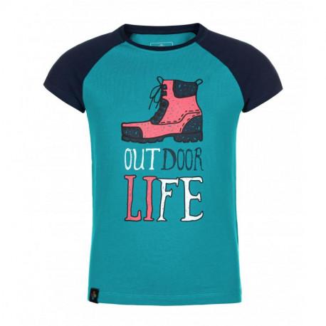 Dívčí bavlněné tričko MOPED-JG