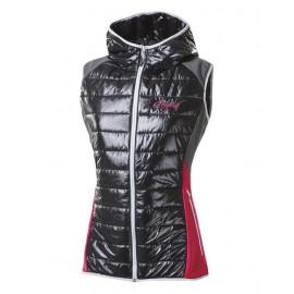 Dámská zateplená vesta s kapucí MISURINA