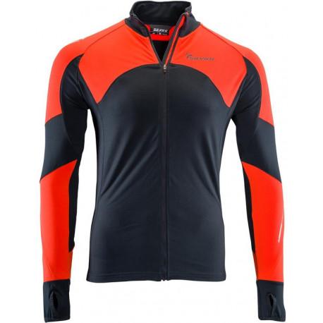 SWEEP Cyklistické kalhoty CYKLO-K004 dlouhé nohavice XL, black
