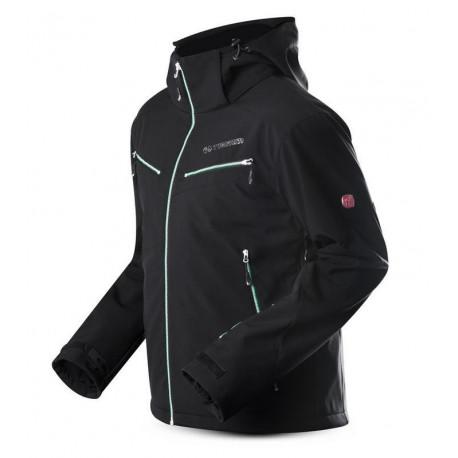 Pánská softshellová lyžařská bunda Shock
