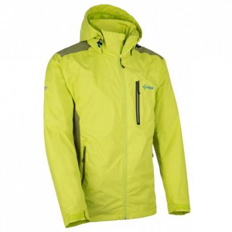 Progress BLIZZARD pánská zimní sportovní bunda M, černá/zelená/bílá