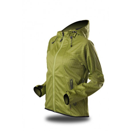 TRIMM Dámská lyžařská bunda Gardena černá, XL plus
