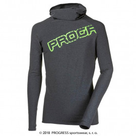 FOCUS pánský sportovní pulovr s kapucí