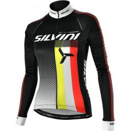 Dámský zateplený cyklistický dres TEAM WD834