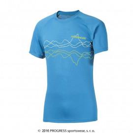DF NKR PRINT pánské termo tričko krátký rukáv