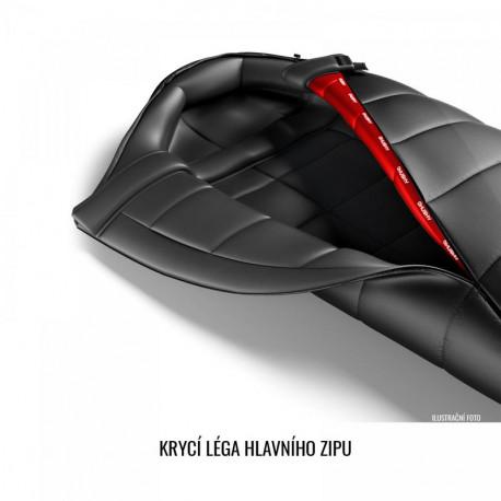 Axon Pánské zateplené kalhoty s laclem Winner černá, M