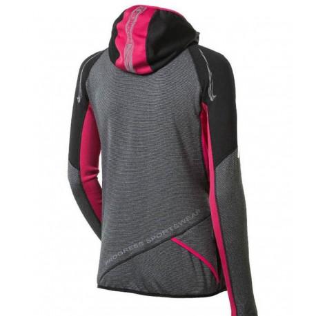 TRIMM Dámská softshellová lyžařská bunda Shock Lady černá, S