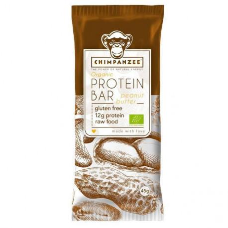 Organic Protein bar Peanut/Butter 45g - Chimpanzee