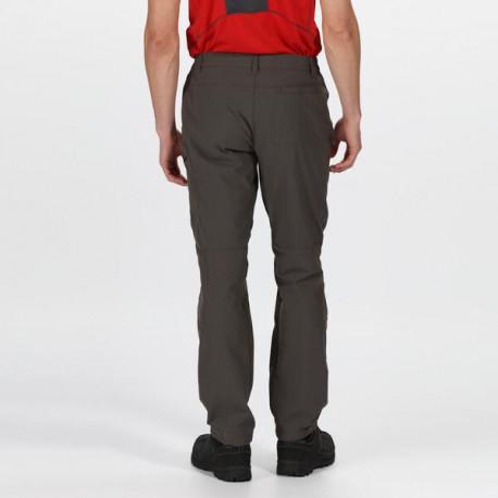 Regatta Dámské outdoorové kalhoty QUESTRA RWJ190 šedá, 38