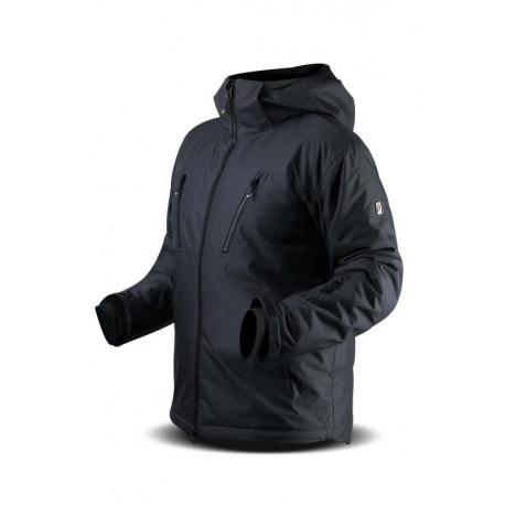 CANARD Pánské triko dlouhý rukáv TRIPOLIS grafit/černá, M
