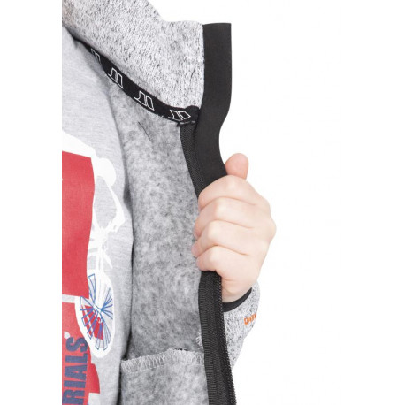 Pinguin Pánské membránové kalhoty Alpin S ACD membrane 2L šedá, S