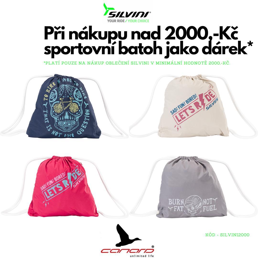ZDARMA Batoh k nákupu SILVINI nad 2000